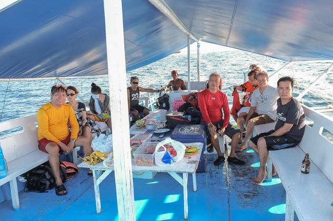 cebu island hopping tour boat