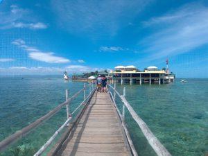 Nalusuan Island - cebu island hopping tour