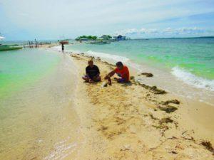 Cebu island hopping - pandanon island