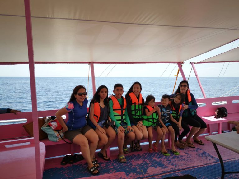 island hopping in cebu