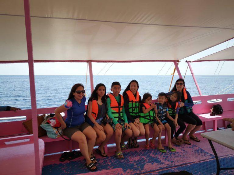 island hopping in cebu